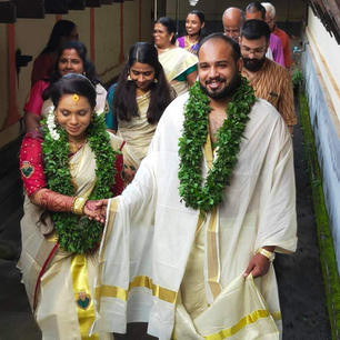 Arjun Saswatha Marriage
