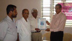 WCW Felicitating Bangalore Warrier Samajam at their Building Inauguration