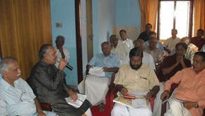 Project Meeting at Akshaya Building ,Guruvayur