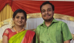 Jaideep Varier E V got engaged to Niranjana A Varier Congratulations and best wishes: warriers.org*