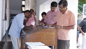 Blood donation cum grouping Camp conducted by youth wing of Samastha Kerala VARIER Samajam