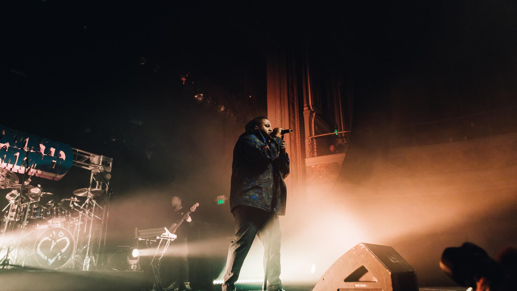 1.31.20 | Xavier Omär | The Regency Ballroom, SF, CA | Photographer: Samuel Altamirano - Goldenvoice