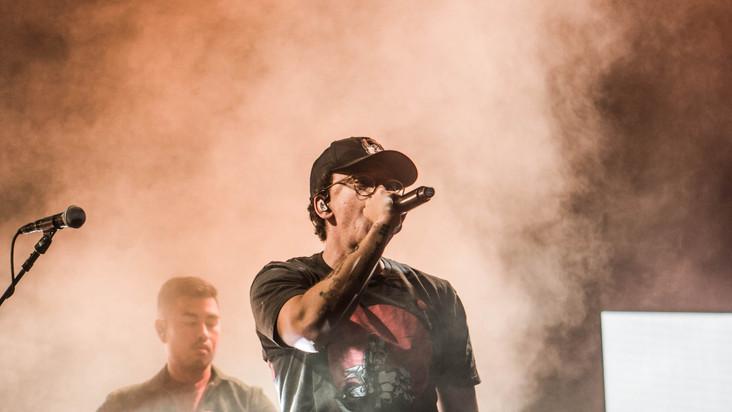10.13.19 Logic   J.I.D.   YBN Cordae   Chase Center, SF, CA   Photographer: Jason Jeong  - Live Nation