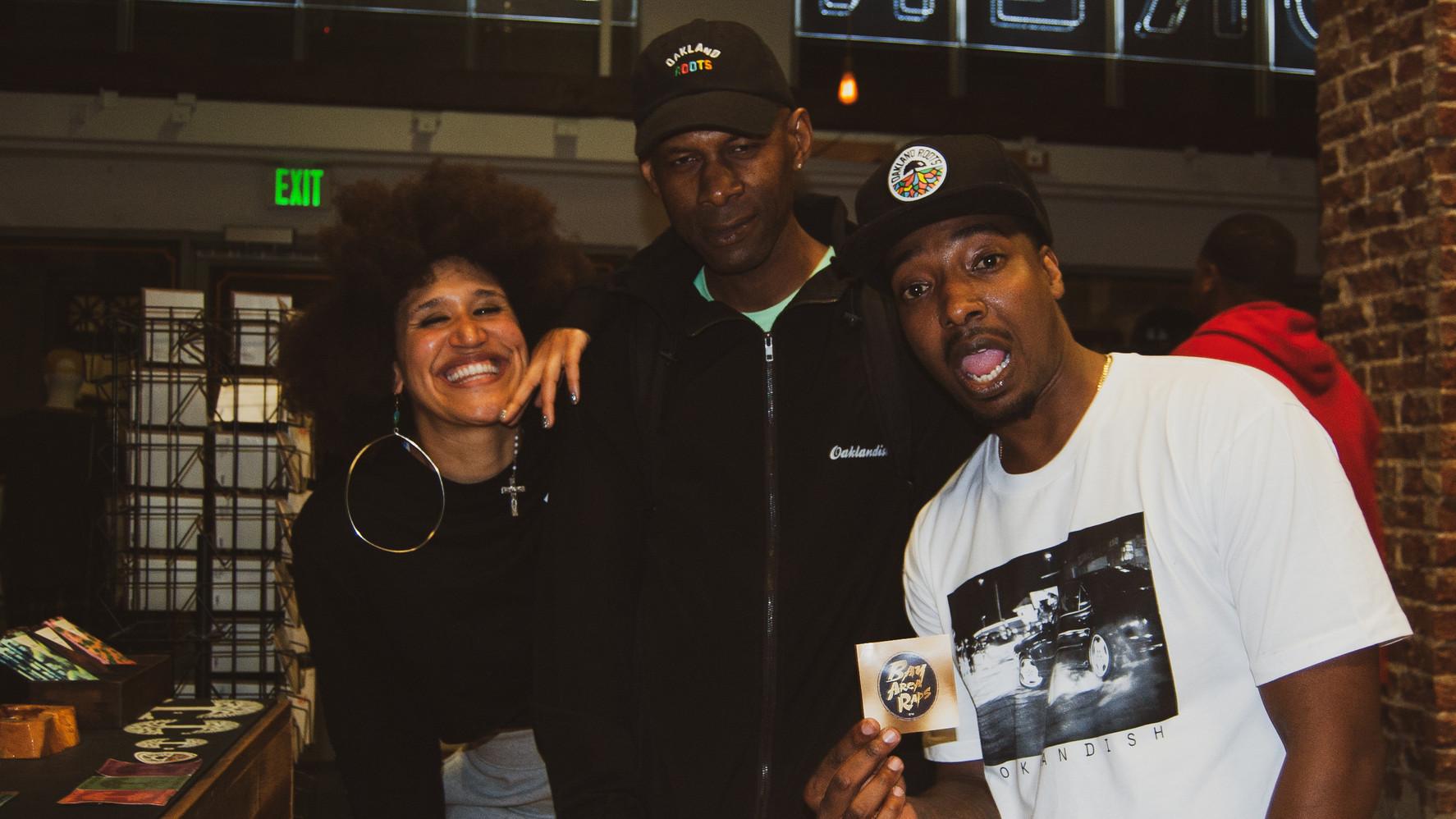 ST Spittin, Coco Peila & DJ Toure