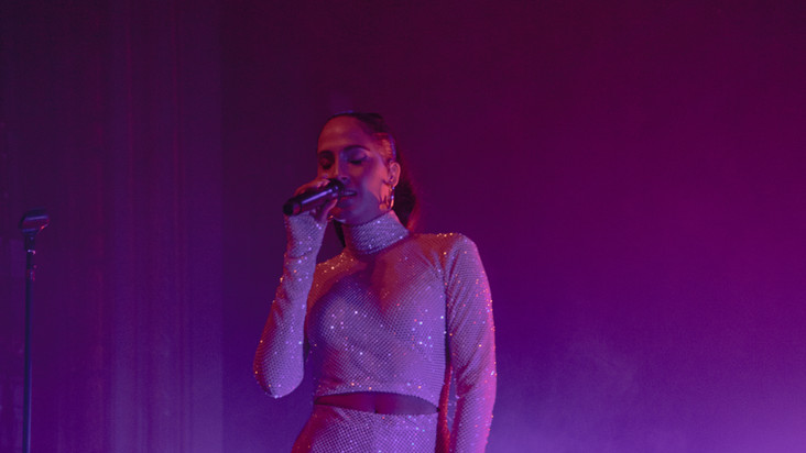12.2.19 | Snoh Aalegra | Baby Rose | Giveon | Regency Ballroom, SF, CA | Photographer: Jit Grewal | Goldenvoice