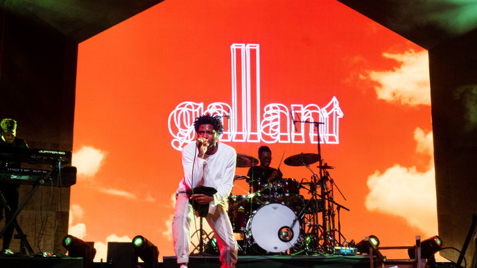 9.13-15.2019 | Gallant | Planet Home | Palace of Fine Arts,SF, CA | Photographer: Dominic Wong