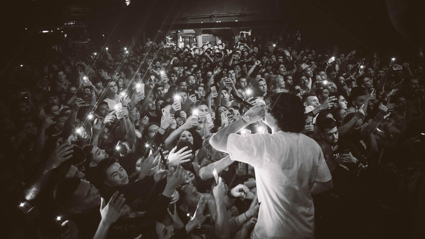 10.30.19 | Shoreline Mafia | AzChike | Catalyst Club, Santa Cruz, CA | Photographer: Matt Pang