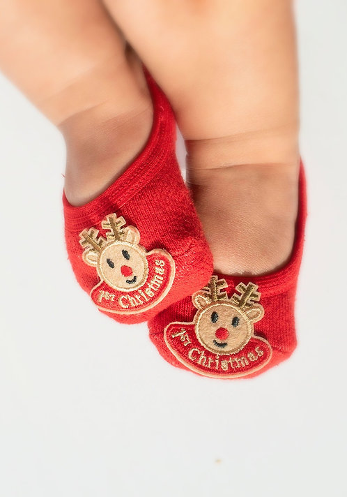 Baby Reindeer 1st Christmas no strap