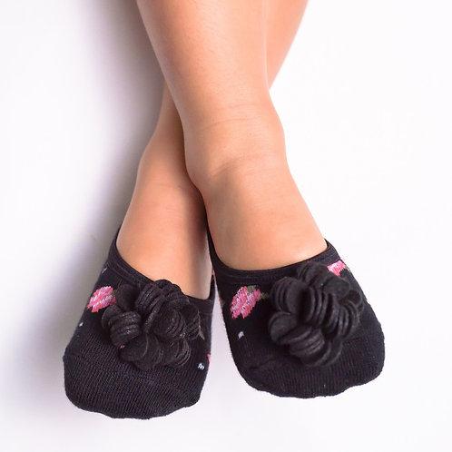 Kids Pink & Black Floral- No Strap