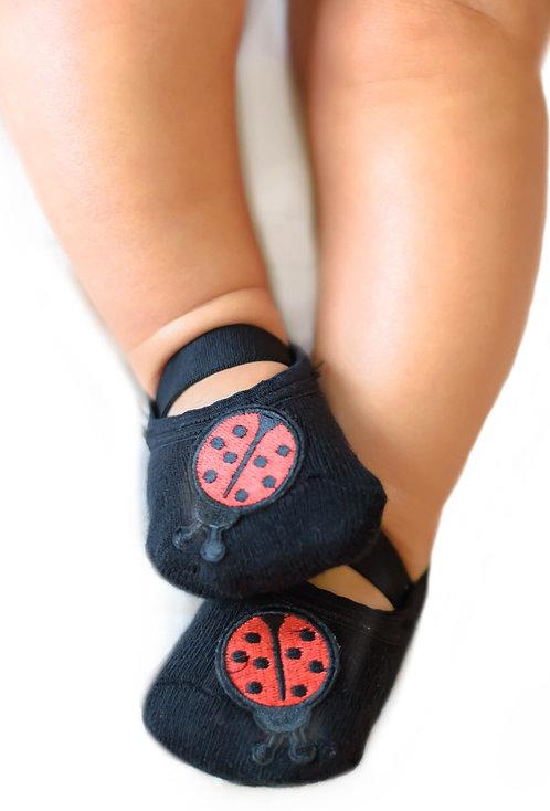 Baby Ladybug - Black