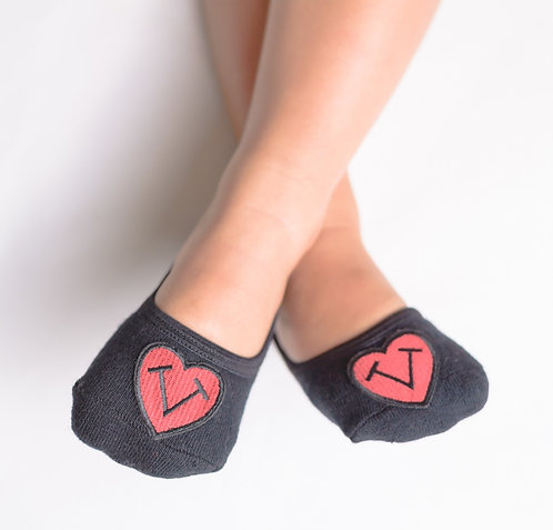 Tiptoes logo- Black no strap