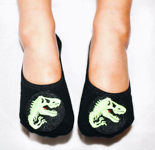 Boys Glow in the dark dinosaur tiptoes