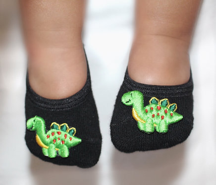 Baby Dinosaur tiptoes
