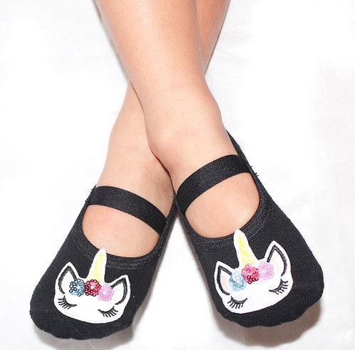 Girls Unicorn tiptoes