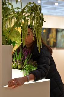 Artist Reception Sandra Elliot