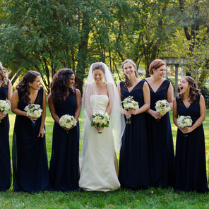 Blooms Created by Bridal Party at West Queen Studio