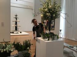 Art in Bloom Installation