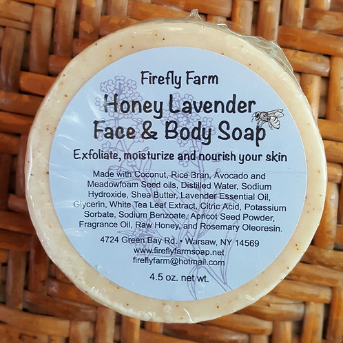 Honey Lavender Face Soap