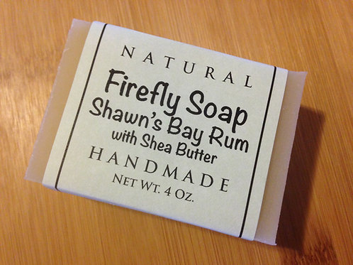 Shawn's Bay Rum Soap