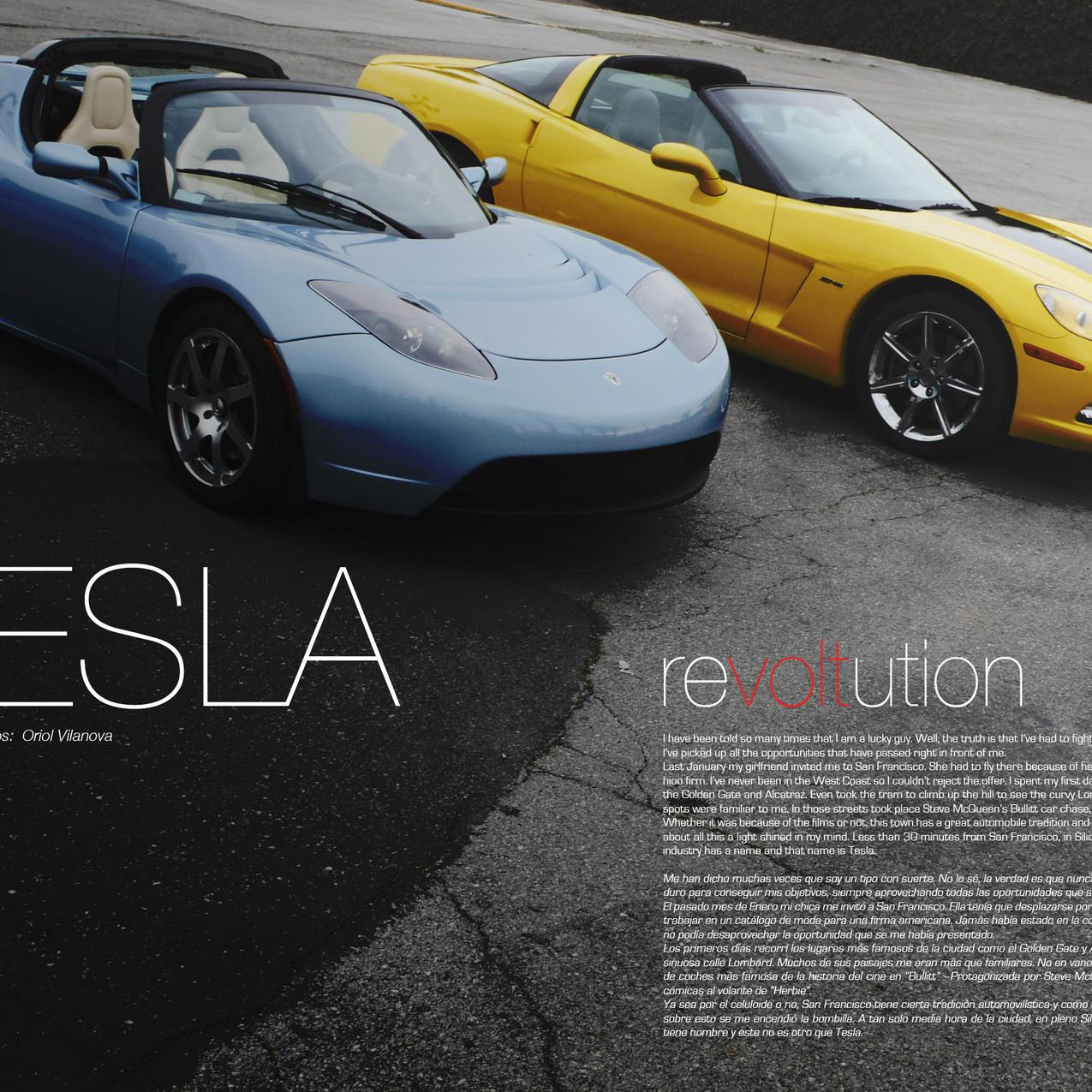 Tesla vs Corvette