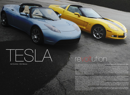 World Environment Day 2017. Throwback to our first Tesla article and test drive back in 2009.