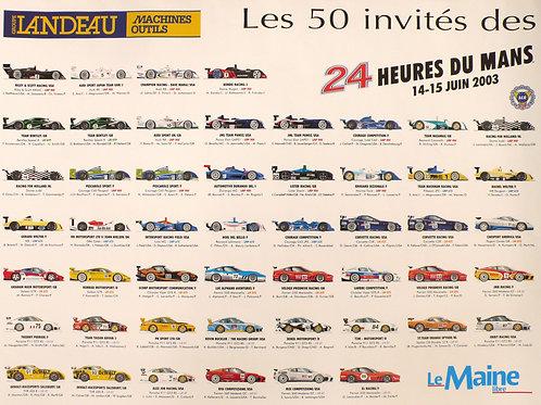 Entrants Le Mans 24h 2003