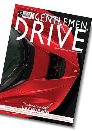 Gentlemen Drive Magazine issue #13