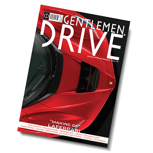 Gentlemen Drive Magazine issue #13