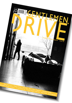 Gentlemen Drive Magazine issue #12