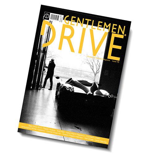 Gentlemen Drive Magazine issue #12