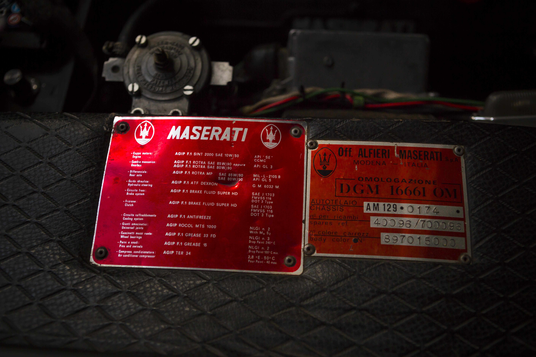 1978 Maserati Kyalami 4.2