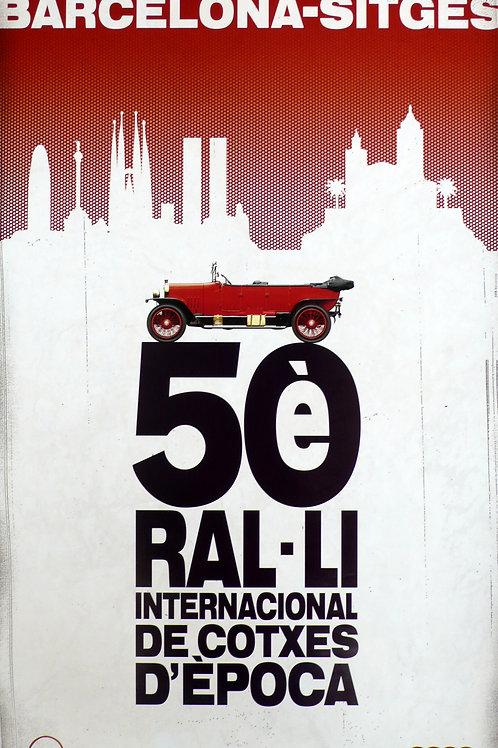 Rally Barcelona-Sitges 2008