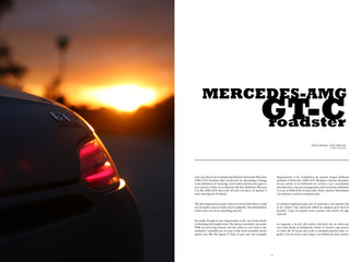 Mercedes AMG GT/C Roadster