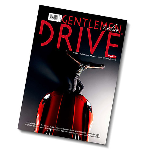 Gentlemen Drive Magazine issue #02