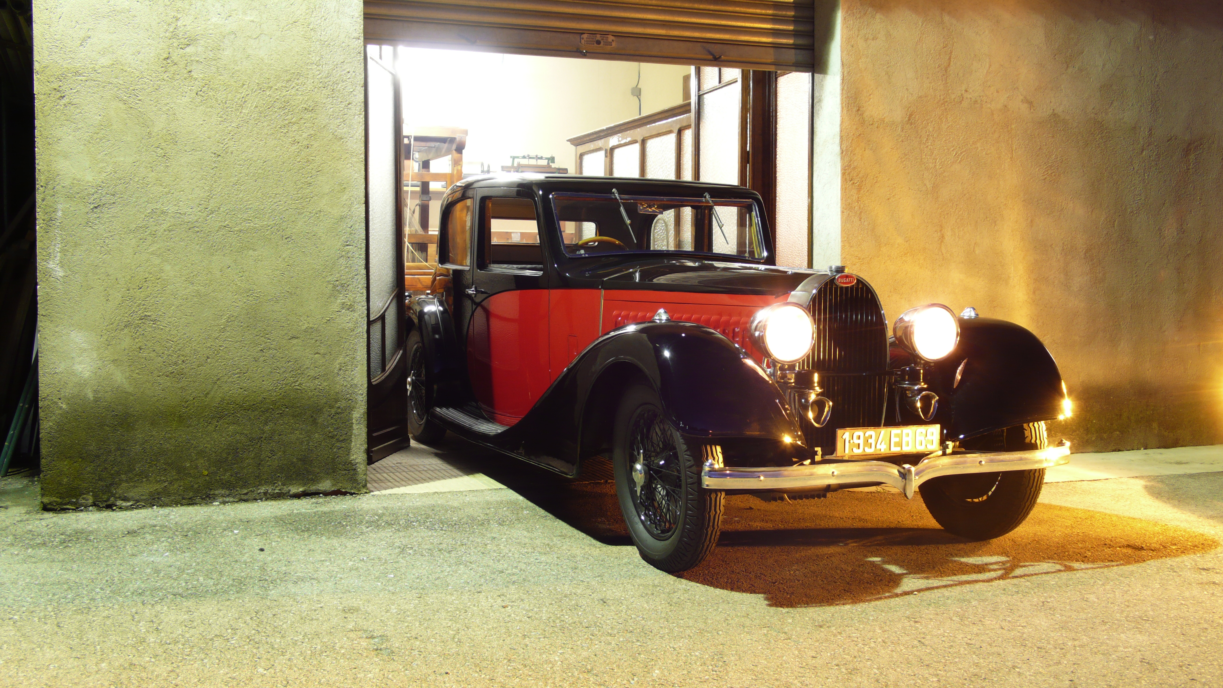 1934 Bugatti T57 Galibier