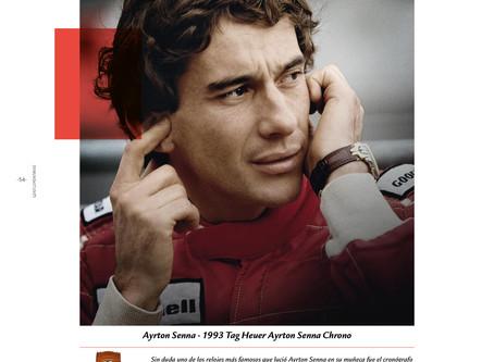 El reloj de Ayrton Senna