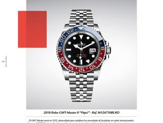 """2018 Rolex GMT-Master II """"Pepsi"""""""
