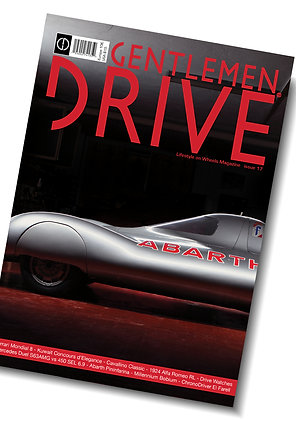 Gentlemen Drive Magazine issue #17