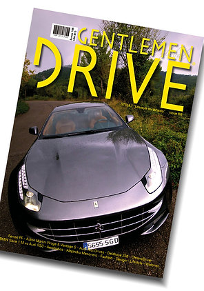 Gentlemen Drive Magazine issue #08