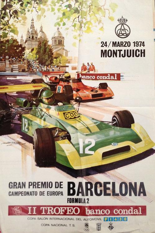 Formula 2 - Gran Premio de Barcelona 1974