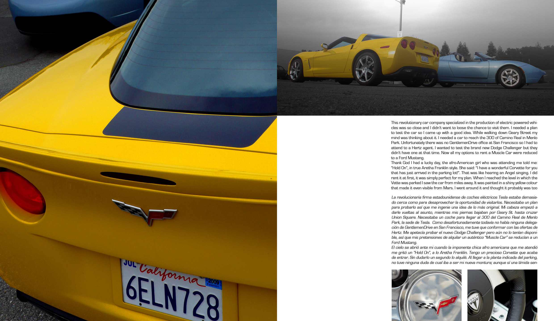 Gentlemen Drive #01 Tesla vs Vette