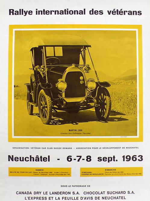 Rallye Neuchatel 1963