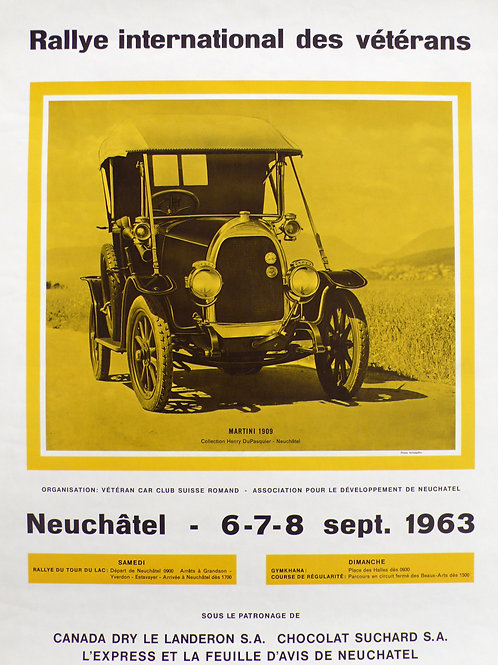 1963 Original Neuchatel Rally