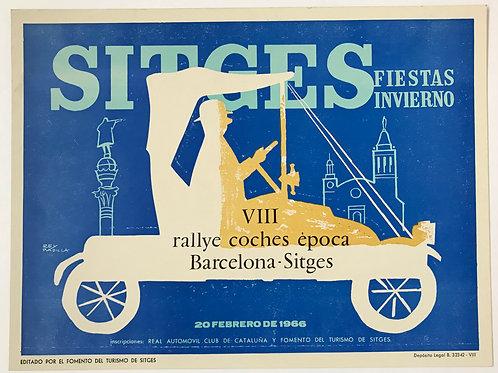 1966 - VIII Rallye Coches Epoca Barcelona-Sitges