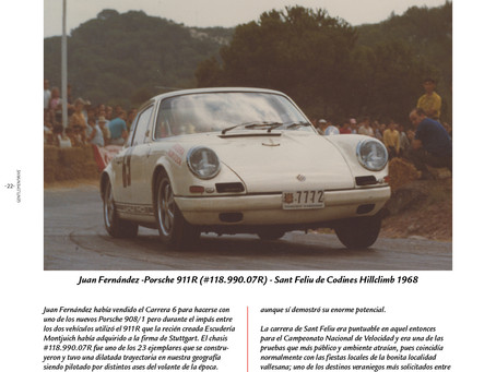 Drive History - Juan Fernández, Porsche 911R y Sant Feliu de Codines 1968