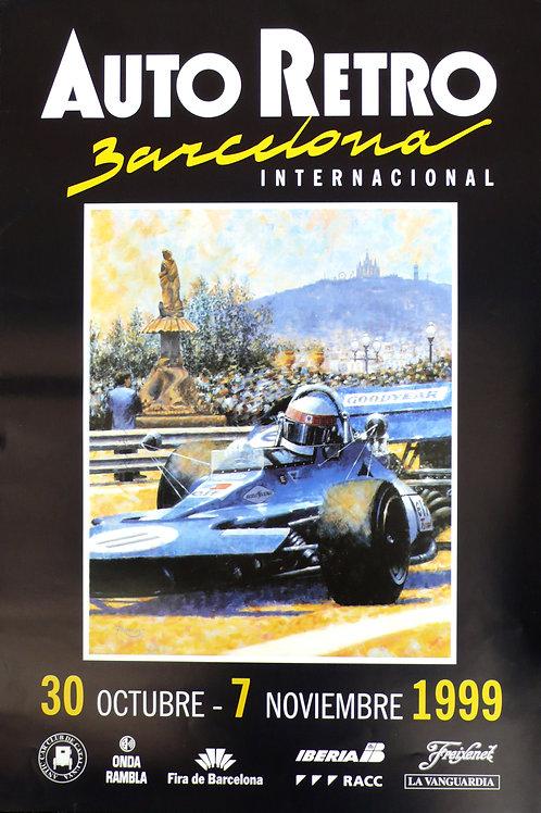 Auto Retro Barcelona original poster