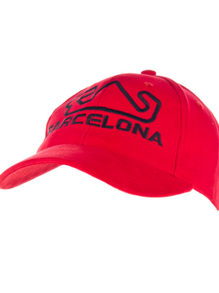 Cap BCN Red