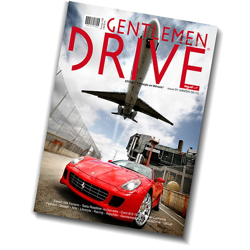 Gentlemen Drive Magazine issue #01