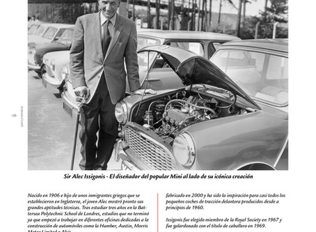 Sir Alec Issigonis, el diseñador del popular Mini