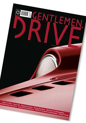 Gentlemen Drive Magazine issue #20